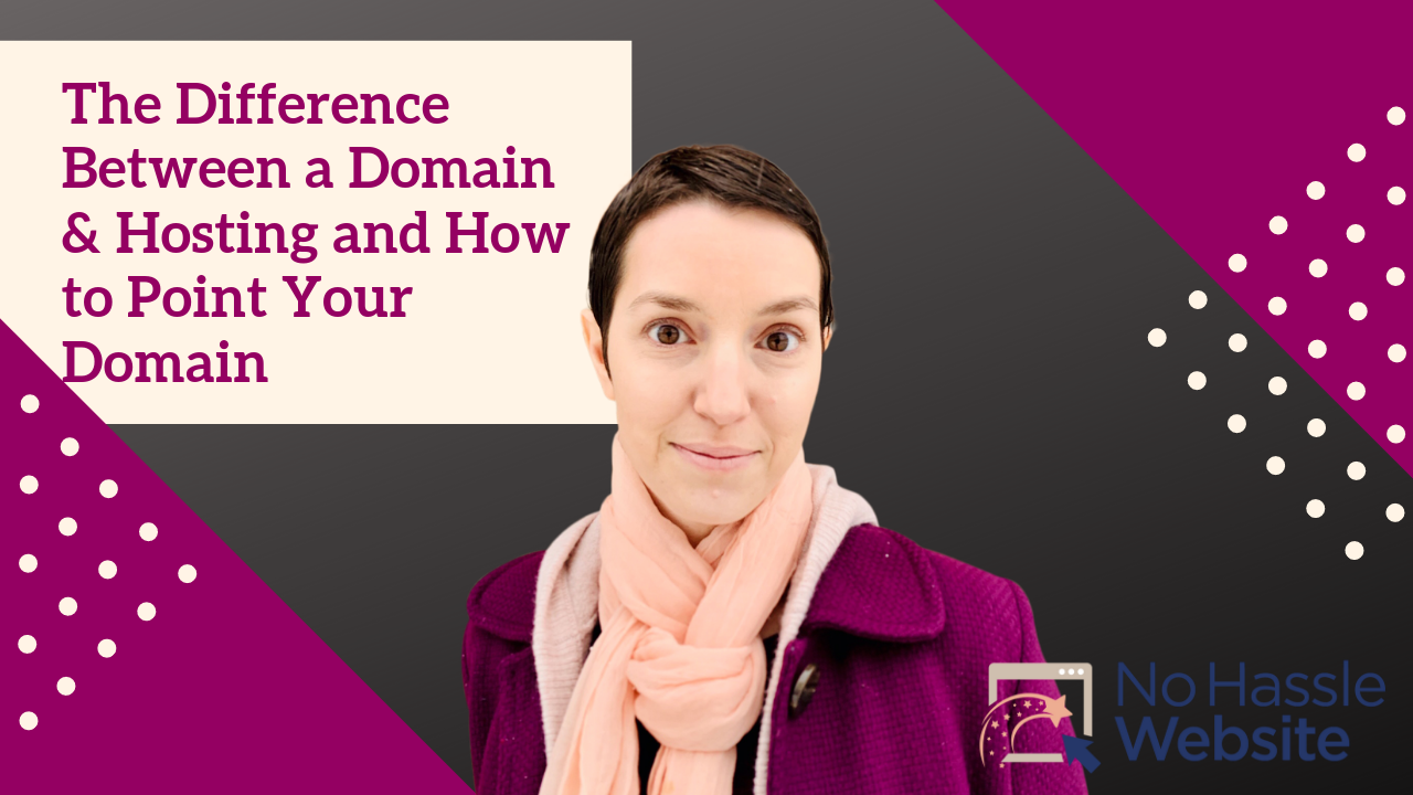 No Hassle Tutorials: The Difference Between a Domain & Hosting and How to Point Your Domain